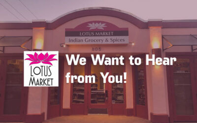 Write Your Review for Lotus Market