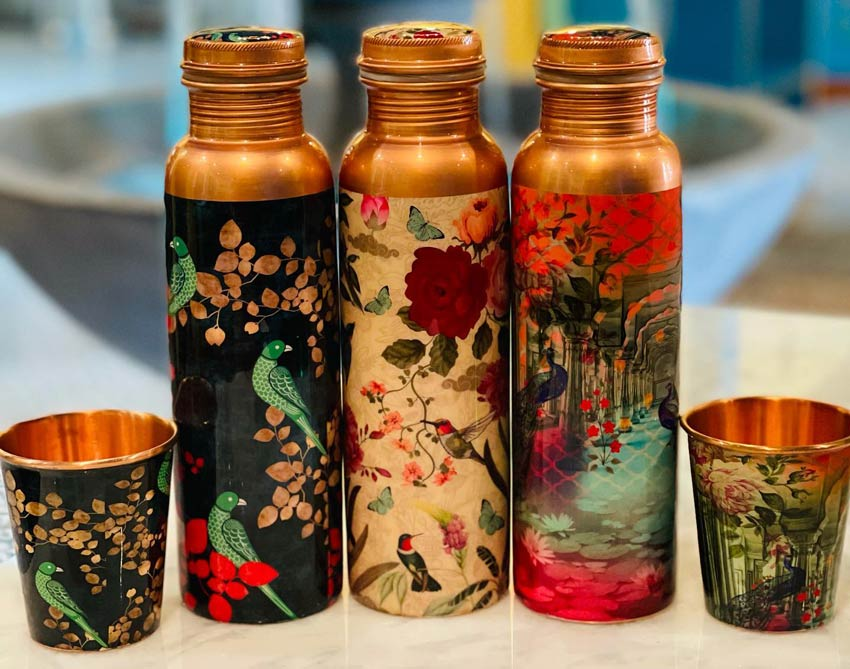 Lotus Market - Copper Drinkwares Available - Tamra Jal
